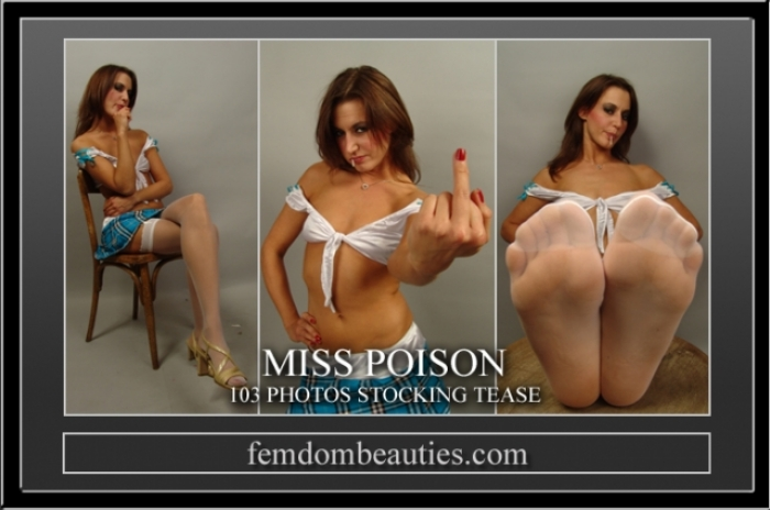 MISS POISON STOCKING TEASE