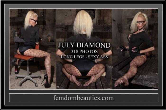 JULY DIAMOND LONG LEGS SEXY ASS