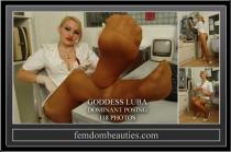 RUSSIAN GODDESS LUBA SEXY NURSE FEET 2