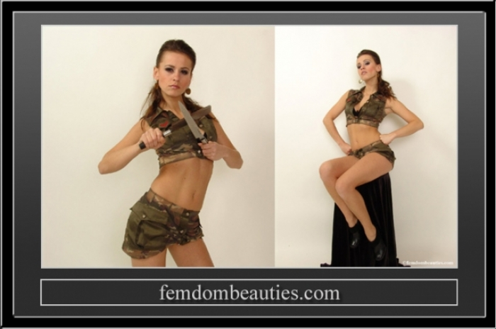 LADY ANNABEL CAMOUFLAGE TEASING