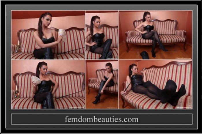 LADY CARLA - PAY FOR MY FEET LOSER !!!