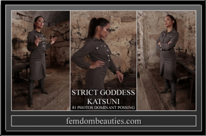 GODDESS KATSUNI DOMINANT POSING UNIFORM